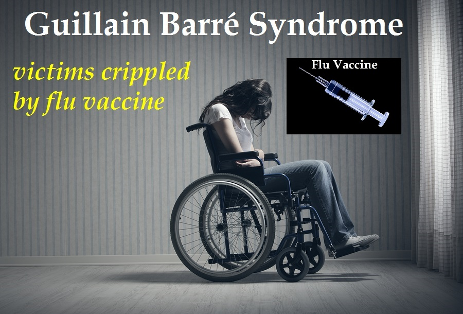 Guillain Barre Syndrome (GBS) caused by the flu vaccine