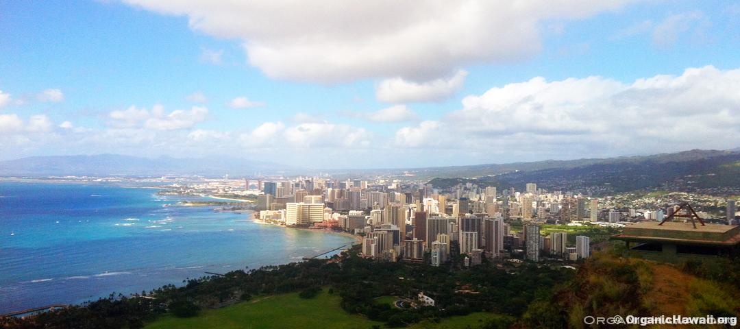 waikiki honolulu oahu hawaii diamondhead